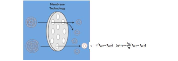 membrane separation math