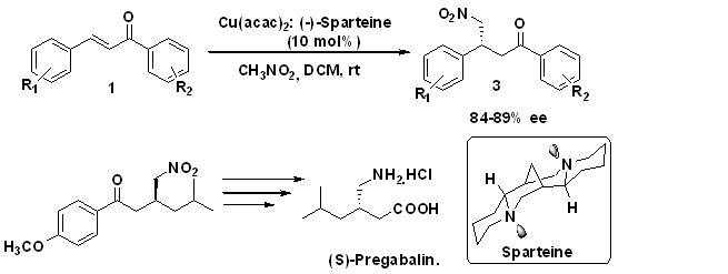 novel route for synthesis (S)-Pregabalin