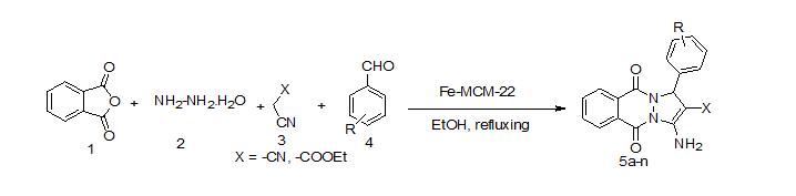 iron modified mesoporous MCM-22 zeolite catalyst